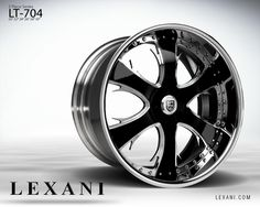 Lexani Wheels, the leader in custom luxury wheels. Wheel Detail - LT-704, part of the 3 Piece series.