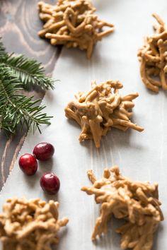 Butterscotch Haystacks | Christmas Desserts