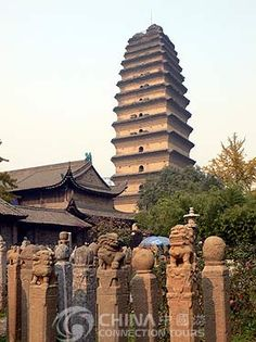 pagodas north pole | Small Wild Goose Pagoda, Small Wild Goose Pagoda Xian - Xian Travel ...
