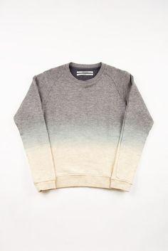 ombre sweatshirt, diy inspiration