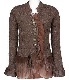 jacket refashion..Wow!!