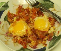 foodies, shakshuka egg, bookcases, eggs, sauces