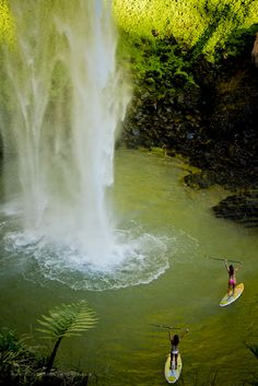 paddles, waterfalls, buckets, bridal veils, dream, newzealand, new zealand travel, place, bucket lists