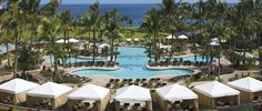 Unlimited fun in the sun with a 10,000-square-foot, tri-level pool, 20,000-square-foot sundeck and children's pool at The Ritz-Carlton, Kapalua.