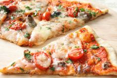 Healthy pizza? Yes please! Click for recipe