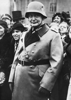 Field Marshall Goering, 1934 - he looks like a freakish clown here and otherwise - Stock Photo - Corbis