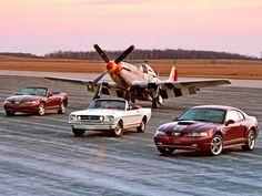 Four Mustangs?
