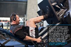 """Bodybuilding.com - Kris Gethin's DTP: """"Leg day doesn't give a Sh*t..."""""""