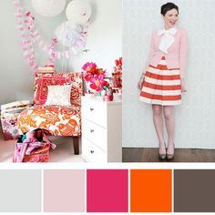 Pretty colour palettes from my favourite pins