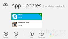 Skype app for Windows 8/RT updated with HD video calling and messages support