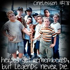 The Sandlot - MAN, I watched this movie way too much and even tried out for the softball team at school as a result.