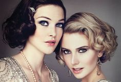 Great-Gatsby-Wedding-Makeup #greatgatsby