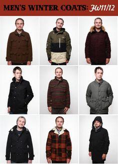 Mens Vegan Winter Coats