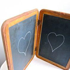 A chalk board!
