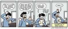PHD Comics: Why? Why??
