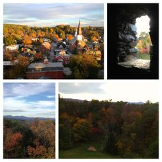 Montpelier, Vt. 10.3.13 Views from Hubbard Park & Cliff St.(16%grade!)