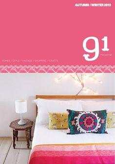 91 magazine autumn-winter/2013 #craft #decor #design #interior #style #vintage #quaterly #free