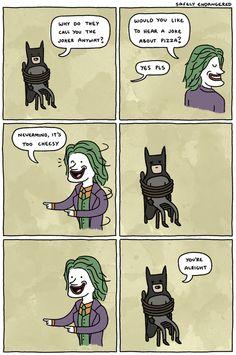 The Joker kills Batman