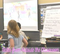 Using GoNoodle in the classroom to build in brain breaks. #gonoodlemadness @Go Noodle
