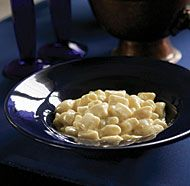 Gnocchi with Creamy Gorgonzola Sauce