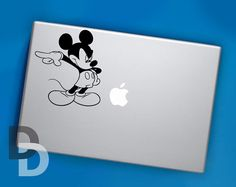 Angry Mickey Mouse Sticker Decal for MacBook Pro by DecalDecals, $8.90