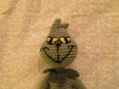 Make a Grinch. FREE pattern.