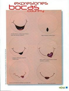 fun foam doll smiles tutorial