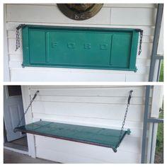 Tailgate bench or shelf