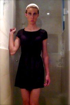 boy in dress