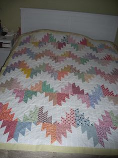 Quilting Ideas | Project on Craftsy: Delectable Mountains