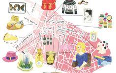 Paris map - Marin Montagut