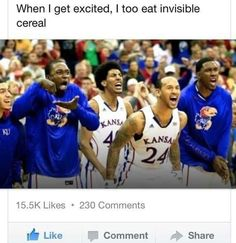 Invisible cereal!!! HA!