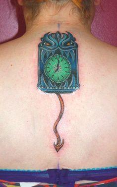 Haunted Mansion tattoo.