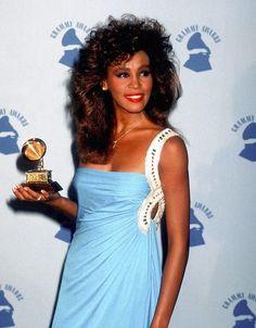 Whitney Houston in 1986.