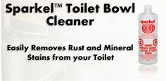 The BEST iron stain remover from my toilets.  It worked before my eyes! and safe on septic systems.