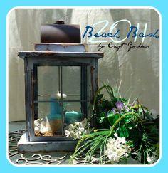 diy home decor, beaches, decor crafts, cottag, lantern tutori, beach lantern, dollar store crafts, candl, picture frames