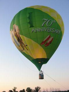 Wizard of Oz 70th Anniversary   Hot Air Balloon.