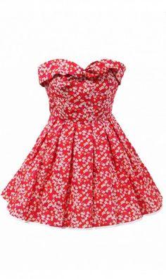 Alice Liberty print Dress £75