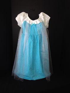Peasant princess Elsa dress!  Mimi Luvin's Tutus