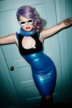 Kelly Osbourne Latex Lovecat