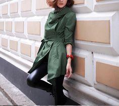 women's OL style suit Coat jacket Windbreaker