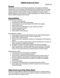 Homework Central   All Saints Catholic School     Homework Policy pdf   St Jakobi Lutheran School