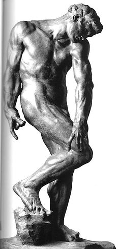 Adam by Auguste René Rodin (France)