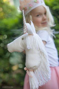 Felt Stick Unicorn Tutorial