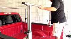 Review of the Thule Xsporter Multi-Height Aluminum Truck Rack - etrailer.com, TH422XT