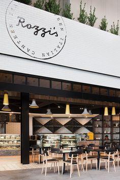 Rozzi's Italian Canteen by Mim Design // Melbourne.