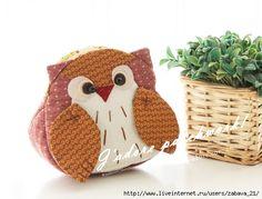 Owl pouch pattern