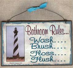 lighthouse bathroom