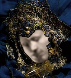 Mask Of Love. Can you see the two faces kissing?