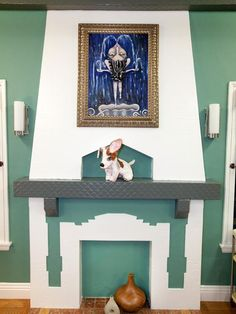 Danielle's Fireplace Makeover